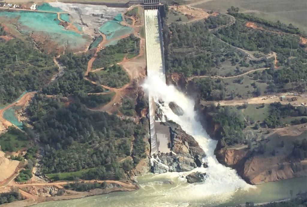 SSEC Erosion Control Hydroseeding Oroville California Dam